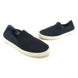 Rothy's Loafer Womens Black Slip On Size 12 Shoes